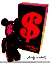 Hysteric Glamour x Bearbrick Andy Warhol