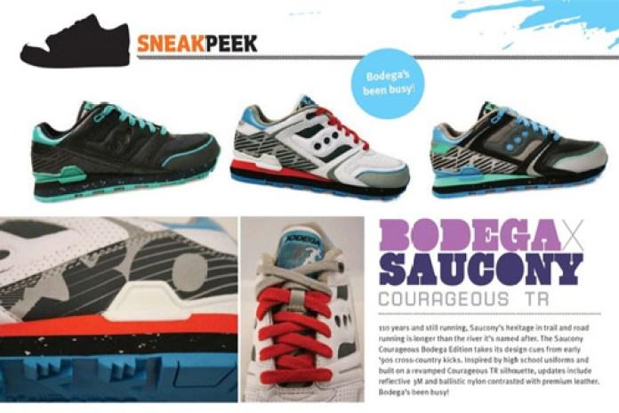Bodega x Saucony Courageous TR Preview