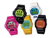 Casio G-Shock 2008 Fall/Winter Crazy Colors Collection