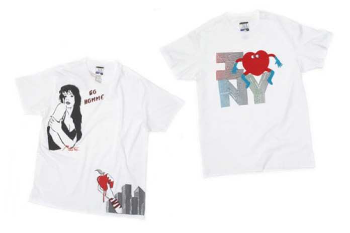 colette x Gap | Paris x New York Tees