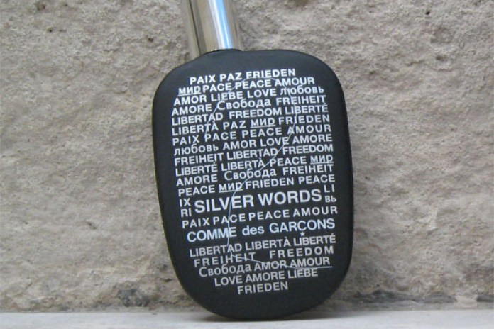 COMME des GARCONS #2 Silver Words