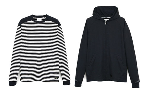 CYCLE: CLS Coolmax Hooded Parka & Border Long Sleeve