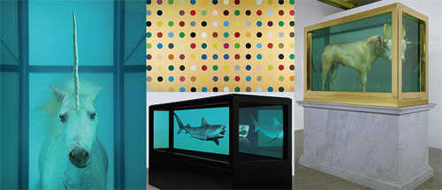 """Damien Hirst """"Beautiful Inside My Head Forever"""" Auction"""