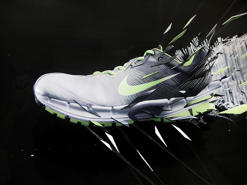 Nike Flywire Installation by Darbotz