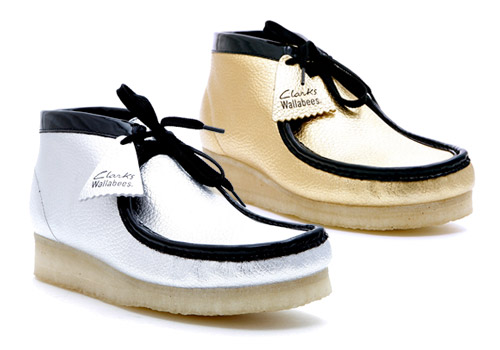 "David Z. x Clarks ""Metal Pack"" Wallabee"