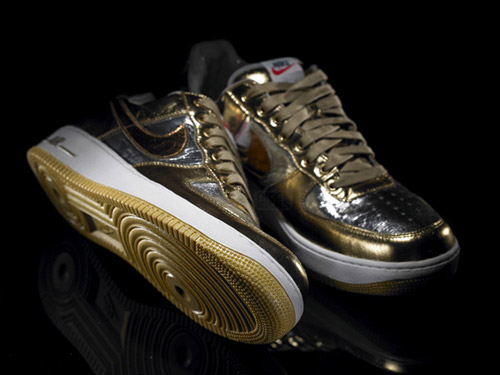 DJ Clark Kent Olympic Nike Air Force Ones