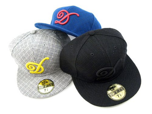 DQM Fall 2008 New Era 59Fifty Caps