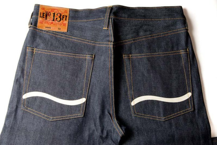 Evisu Tribute to Lee's - No. 13 Lazy S Slim Denim