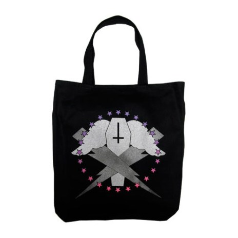 Flying Coffin Tote Bag