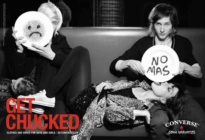 """John Varvatos x Converse """"Get Chucked"""" Campaign"""