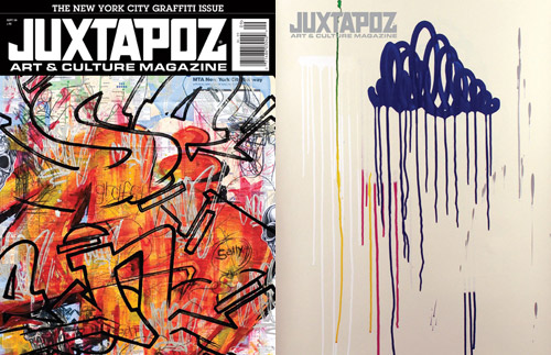 Juxtapoz 2008 September Issue: NYC Graffiti