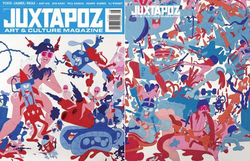 Juxtapoz x Reas - August 2008 Issue #91