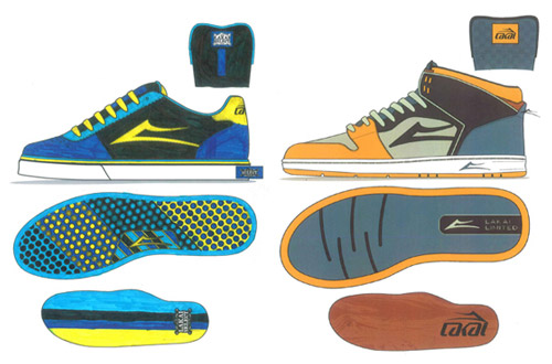 "Lakai ""My Way"" Colorway Contest Winner"
