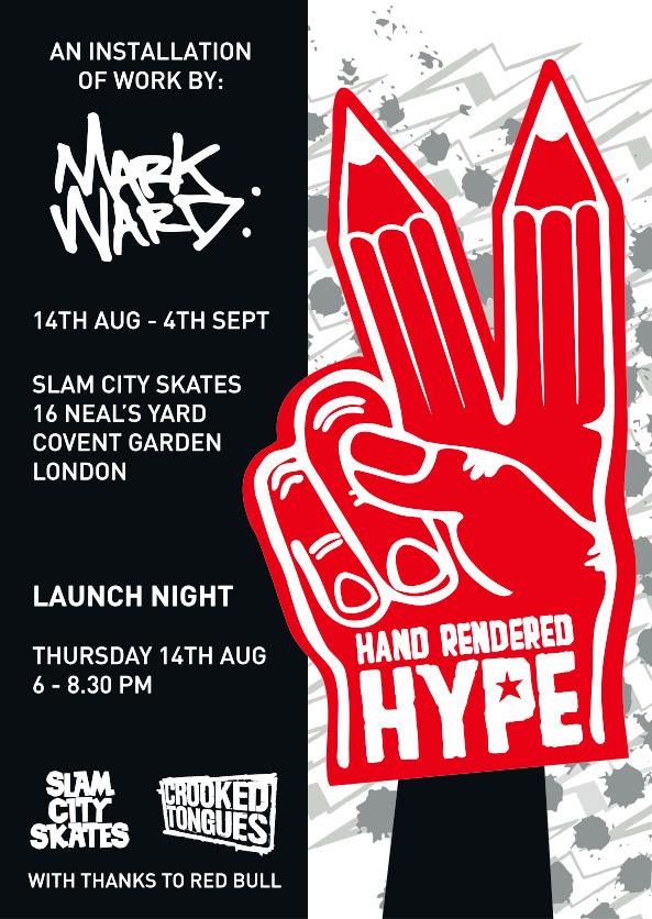 Mark Ward - Hand Rendered Hype