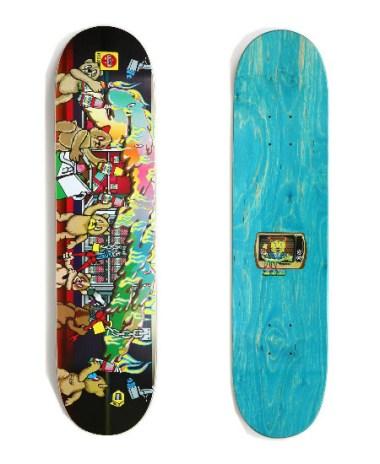 Medorra x T19 x Skatething Skate Decks