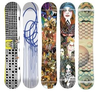 Monument Snowboards Artist Series