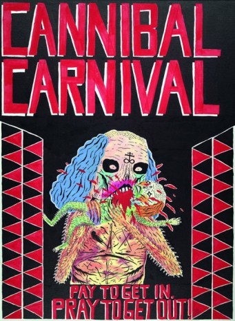 """Neck Face """"Cannibal Carnival"""""""