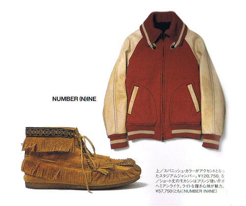 Number (N)ine 2008 Fall/Winter Items
