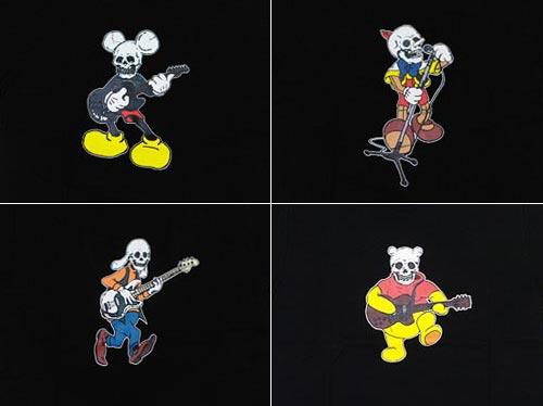 NUMBER (N)INE Skull Disney Collection