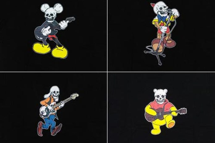 NUMBER (N)INE Skull Disney Collection