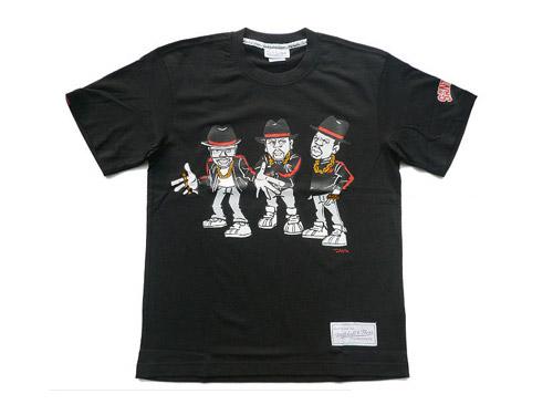 Run DMC x Santastic! x Mitchell & Ness T-shirt