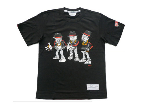 Run DMC x Santastic! x Mitchell & Ness T-shirt