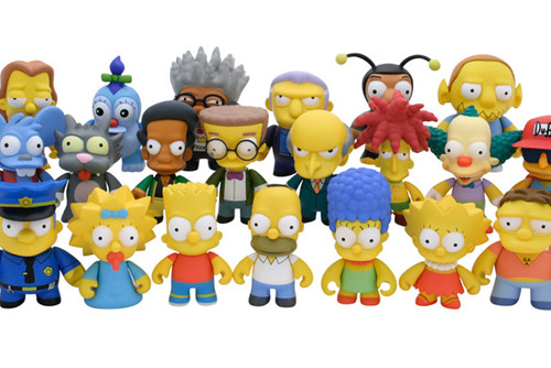 The Simpsons x Kid Robot