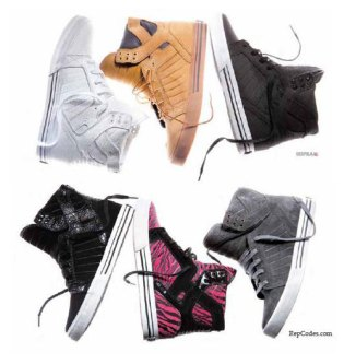 Supra 2009 Spring Collection Preview
