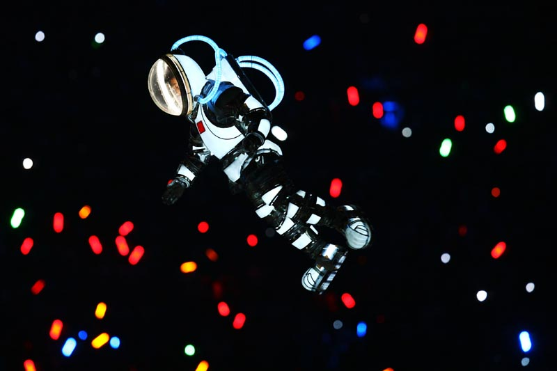 Photography from the Beijing Olympics Opening Ceremonies