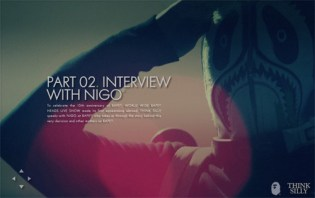 Interview with Nigo at THINK SiLLY
