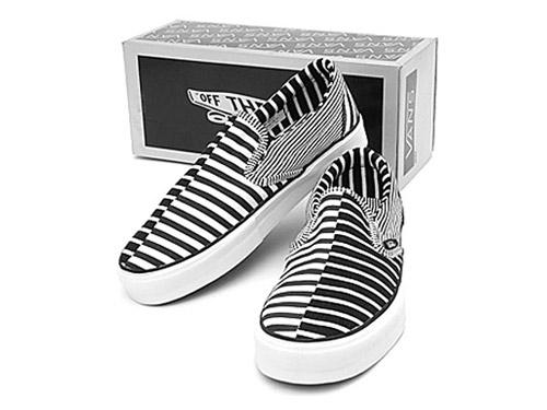 Vans Vault Striped Slip-On LX