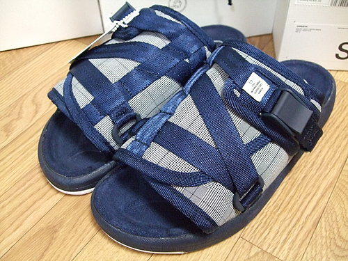 Visvim Glen Check Navy Christo