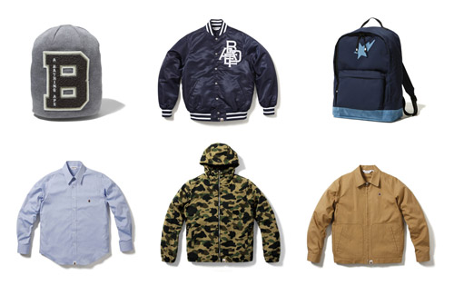 A Bathing Ape 2008 Fall/Winter Collection - September Release Pt. 2
