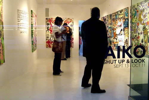 "Aiko ""SHUT UP & LOOK"" Show @ Brooklynite Gallery"