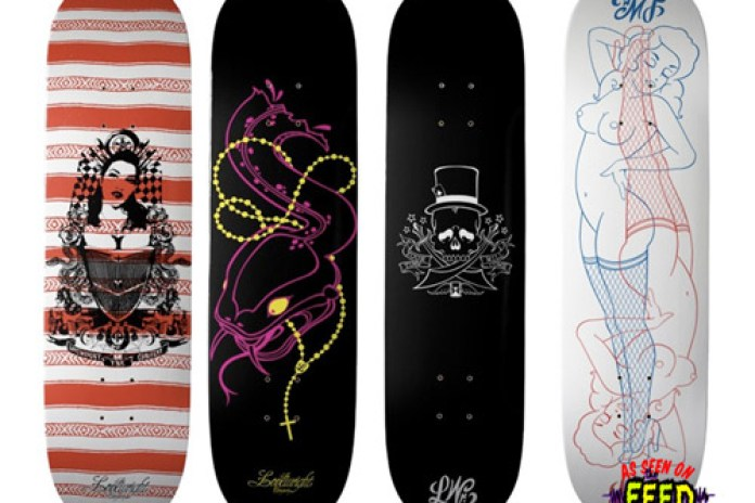 Artsprojekt: Lovewright Skateboard Decks