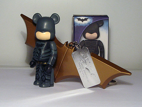 """The Dark Knight"" Batman Bearbrick 100%"