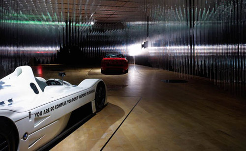 "BMW Art Car Exhibition ""Transparent Speed"""