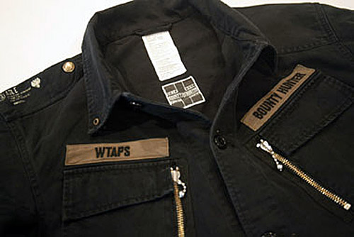 WTAPS x Bounty Hunter 13th Anniversary Jungle LS Jacket