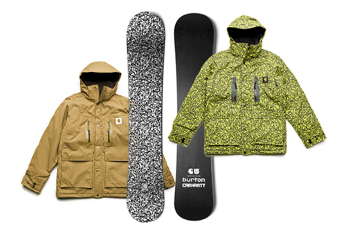 Burton x Carhartt 2008 Fall/Winter Collection