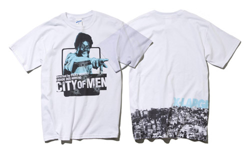 City of Men x XLarge Japan T-shirt