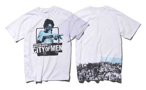 City of Men x XLarge Japan T-shirt