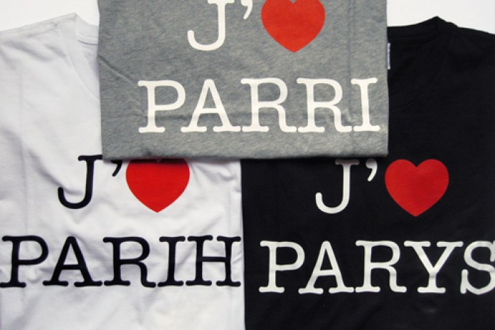 "colette x Gap ""I Love Paris"" by Claude Closky"