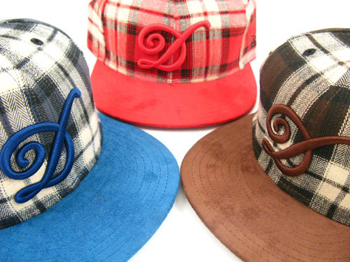 DQM 2008 Fall Uptown Plaid New Era Caps