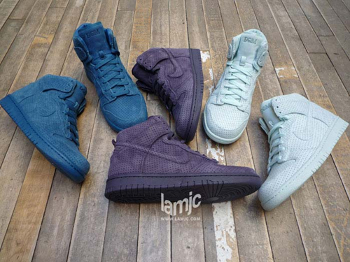 DQM x Nike Dunk High Premium Set
