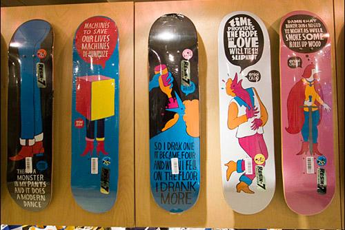 Enjoi Skate Decks by Parra