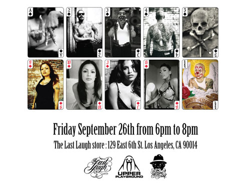 Estevan Oriol Playing Cards & Calendar Release Party