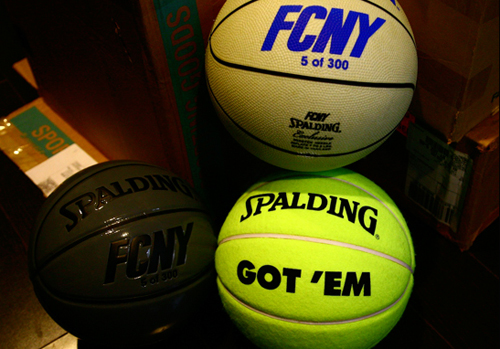 Flight Club x Spalding Basketballs