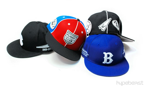 Flight Club x Mitchell & Ness Brooklyn - Ball Busters Fitted Caps
