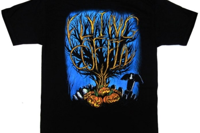 Flying Coffin Halloween Tee & Cap