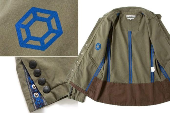 honeyee x nonnative Ripstop Short Work Jacket